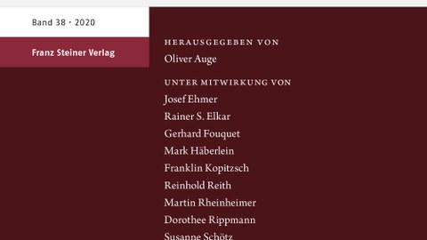 Jahrbuch für Regionalgeschichte