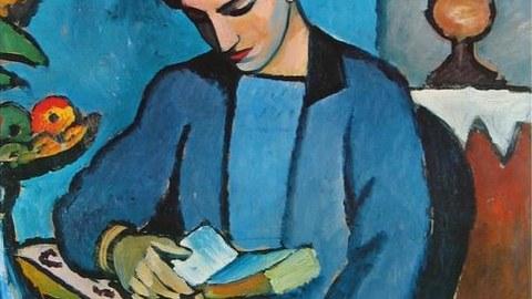 Lesendes Mädchen