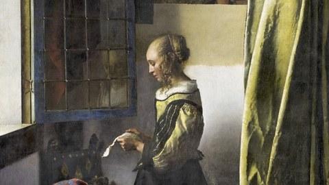 Brieflesendes Mädchen von Vermeer