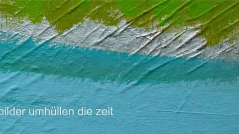 Flyer Frau Resch Vernissage