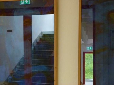 Spieglung der Treppenhauses