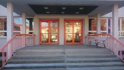 Eingang IKMW