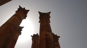 Jordanien Säulen