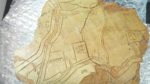Stadtplan von Nippur aus der 2. Hälfte des 2. Jt.v.Chr.