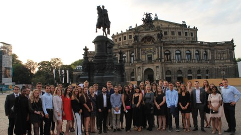 ELSA Dresden Law School with 38 participants from 19 countries