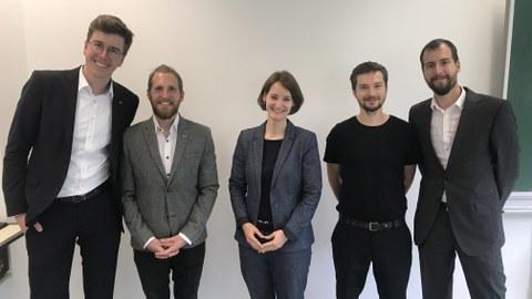 Team des DataJus-Projekts