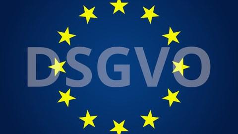 DSGVO und Europa-Sterne
