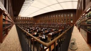 Der große Lesesaal der Sächsichen Landes- und Universitätsbibliothek Dresden