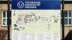 Ein Lageplan des Hauptcampus der TU Dresden
