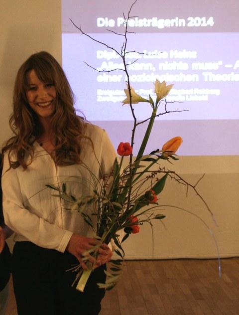 Preisträgerin Luise Heinz