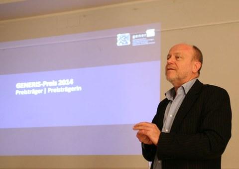 Laudatio Prof. Dr. Karl Lenz (geschäftsführender Direktor ifs)
