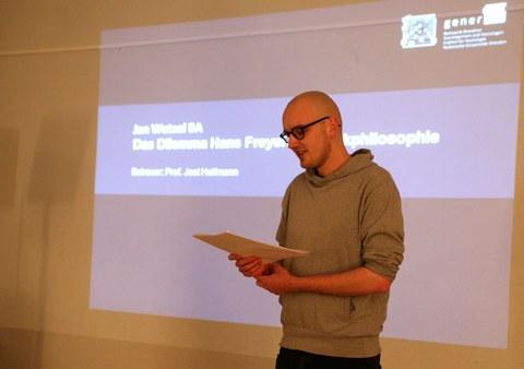 Vortrag Jan Wetzel B.A.