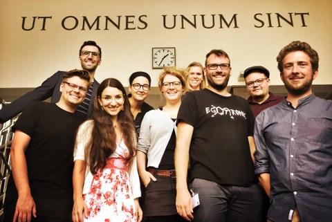 TUD Team auf der GPJE Tagung in Mainz 2018