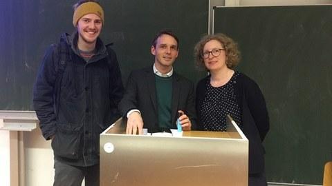 Prof. Dr. Klaus Dingwerth und Prof. Dr. Anna Holzscheiter