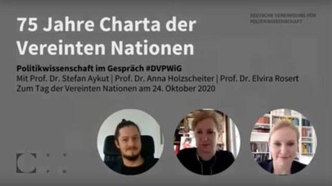 Veranstaltungsankündigung der DVPW auf YouTube