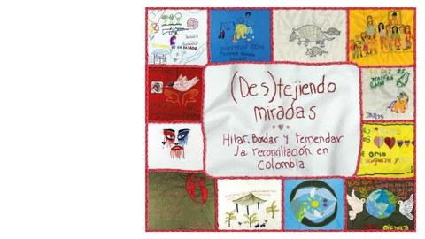 Buchcover des Projekts mit mehreren kleinen Bildern der Kunstwerk