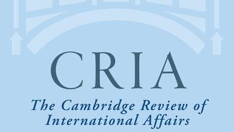 Camebridge Review of International Affairs