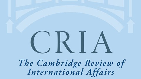 Camebridge Review of International Affairs