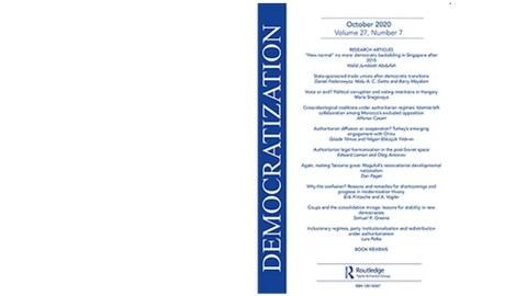 Democratization Cover der Zeitschrift