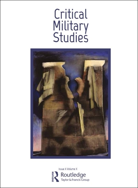 Buchcover Journal Critical Military Studies