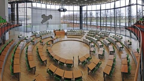 sächsischer Landtag von innen