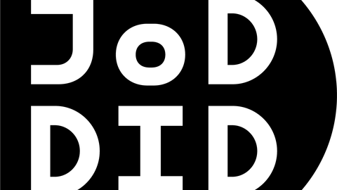 Logo schwarz mit D