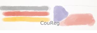 Logo CouReg mit Flaggen