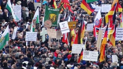 PEGIDA Demo Dresden 1