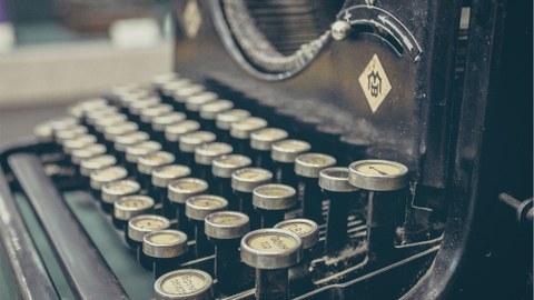 Schreibmaschine alt