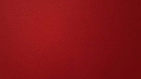 PSY rote Wand blank