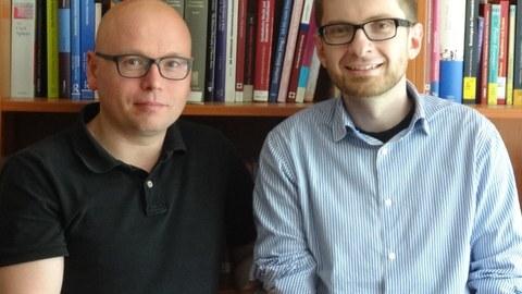 Steven Schäller und Maik Herold