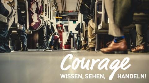 Veranstaltungsreihe Courage - wissen, sehen, handeln