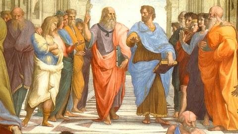 Illustration von Platon