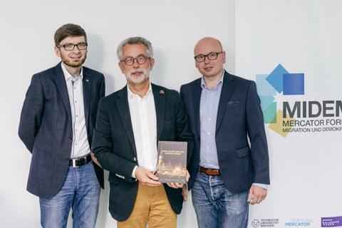 Die Autoren (von links): Maik Herold, Prof. Dr. Hans Vorländer, Dr. Steven Schäller
