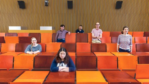 Gruppenfoto des Teams von QuaBIS