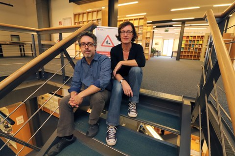 Julia Meyer und Juan Garces, SLUB