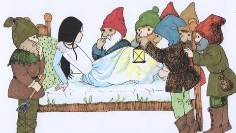 Schneewittchen und die sieben Zwerge