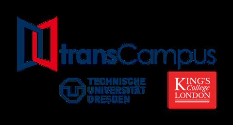 3 Logos: transCampus, TU Dresden, Kings College London