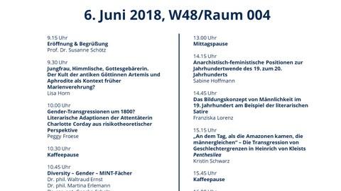 Programm 3. Dresdner Nachwuchskolloquium