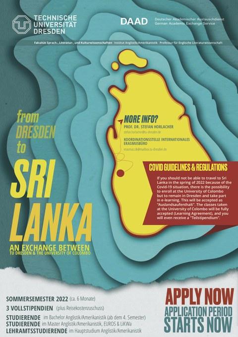 From Dresden to Sri Lanka