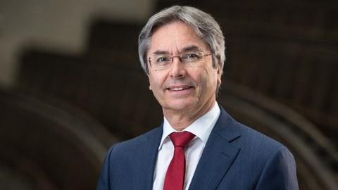 Prof. Dr. Müller-Steinhagen, Rektor der TU Dresden