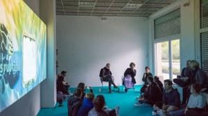 Artist Talk und Filmvorstellung im Rahmen der Ausstellung Tabita Rezaire - Cosmic Download bei Schimmel Project, 2019.jpg