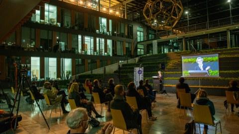 Kickoff Schaufler Lab@TU Dresden, 28.10.2020: Raumansicht