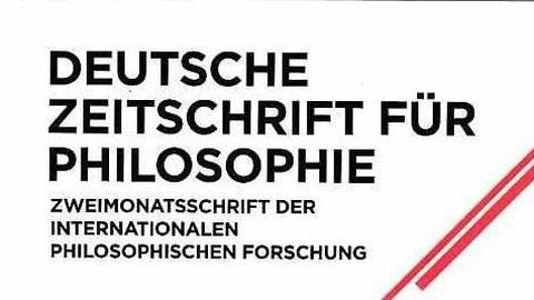 Logo der Zeitschrift, schwarze Schrift auf weiß mit rotem Querbalken