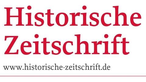 Logo Historische Zeitschrift, pinke Schrift auf weiß