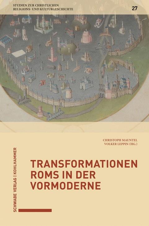 """Foto des Buches """"Transformationen Roms in der Vormoderne""""."""
