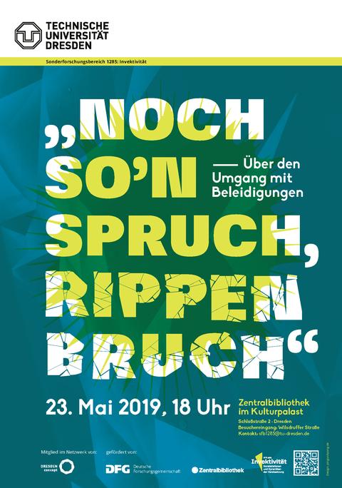"""""""Noch so'n Spruch, Rippenbruch"""" - Über den Umgang mit Beleidigungen"""