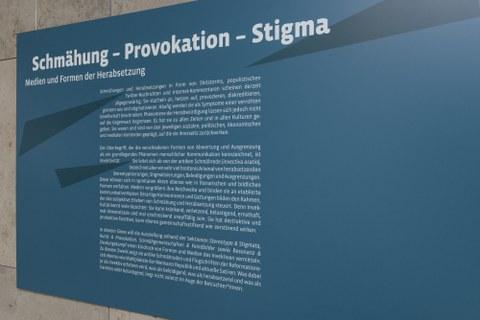 Foto von Exponaten der Ausstellung