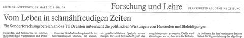 FAZ-Artikel überarbeitet