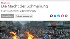 Screenshot mit der Überschrift des Online-Artikels